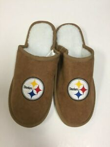 Pittsburgh Steelers Men's Team Color Moccasin Slide Slippers