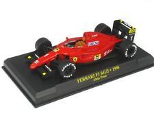 Ferrari 641/2 alain prost 1990 1:43 FER641 hot wheels mattel rouge nouveau
