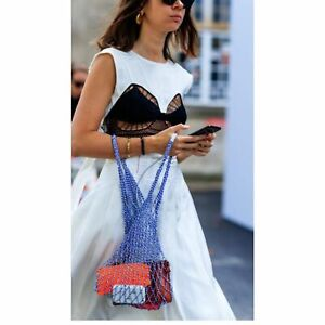 Genuine Celine Net Tote Bag (Fisherman Tote Bag)