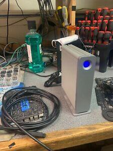 2TB FireWire 800 External Hard Drive TESTED LaCie 710377