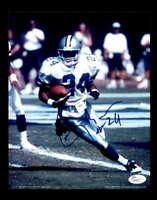 Larry Brown JSA Coa Cowboys Signed 8x10 Autograph Photo