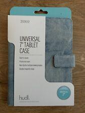 "BRAND NEW Tesco Blue Denim Universal 7"" Tablet Case PLEASE READ DESCRIPTION BOX!"
