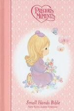 Precious Moments Holy Bible - Pink Nkjv: By Thomas Nelson