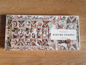 Sistine Chapel Ceiling by Michelangelo Jigsaw Puzzle' 1000 Piece Jigsaw Puzzle.