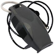 Fox 40 SHARX Marine Safety Alert Rescue Whistle BLACK FREE LANYARD BEST VALUE!