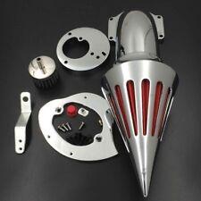 For 1986-2012 2007 Honda VTX 1300 Spike Air Cleaner Kit Intake Filter K&N Chrome