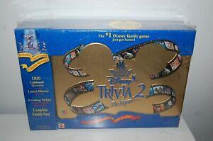 THE WONDERFUL WORLD OF DISNEY TRIVIA 2 NEW IN SEALED TIN BOX