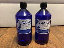 Avoria Liquid Base 1000ml + 1000ml 75/25 + 50/50 2 Flaschen VG/PG Basisliquid