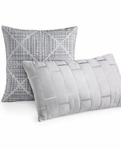 "Bar III Pop Stripe 12"" x 20"" Decorative Pillow X1168"