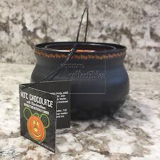 Disney Parks Hot Cocoa/Hot Chocolate Cauldron Mickey Pumpkin Halloween Time 2016