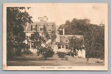Cora Brown's NORFOLK Connecticut—Rare Antique Litchfield County—Drug Store Pub