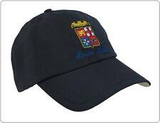 Berretto Baseball Cap Marina Militare Italiana logo Ricamato Art.NSD-MAR-CAP