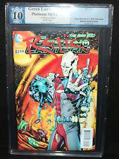 Green Lantern #23.1 - 3D Cover - PGX Platinum MINT Grade 10 - 2013