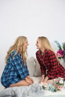 Womens Buffalo Plaid Flannel Shirt Long Sleeve Ladies Flannel Plaid with Pocket