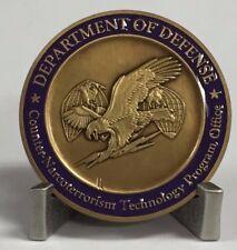 RARE DoD Counter-Narcoterrorism Technology Program Office Challenge Coin