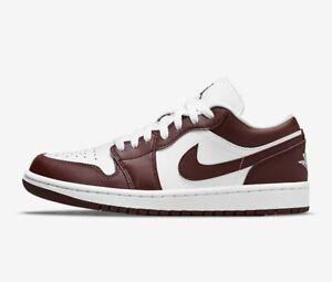 WMNS Nike Air Jordan 1 Low Team Red *Size 8.5W* White Bronze Eclipse DC0774-116