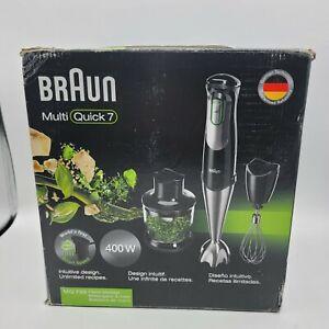 Braun MQ7027X Multiquick 7 ACTIVEBlade Technology Hand Blender