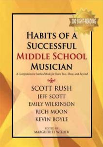 Habits of a Successful Middle School Musician, Tenor Sax