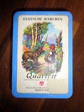 Deutsche Märchen QUARTETT W.Wilhelmsmeyer Bielefelder Spielkarten Nr.0123_rar