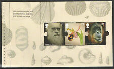 (CD3) GB QEII Stamps CHARLES DARWIN Prestige Booklet Pane ex DX45 2009