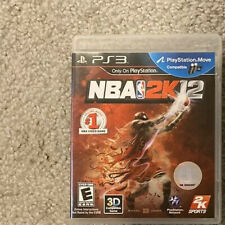 NBA 2K12 PS3 Playstation 3