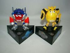 M&M's Transformers Revenge of the Fallen Optimus Prime & Bumblebee coin banks