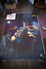 TINTIN SECRET UNICORN MAC DONALD'S 4x6 ft Bus Shelter D/S Movie Poster Original