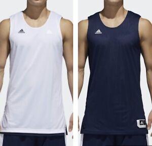 Adidas Jersey Shirt Basketball Crazy Explosive Top Reversible Team Men M L NWT