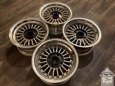 14x657 Fin 3 Piece Wheels Jdm Ssr Weds Work Epsilon Rare Vintage Rims 4x1143