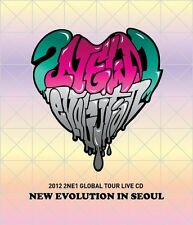 2NE1 [NEW EVOLUTION IN SEOUL] 2012 Global Tour Live CD+Photo Book+Card SEALED