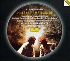 NEW Debussy: Pelleas et Melisande - Ewing/LeRoux/vanDam/Abbado (2 CDs 1992)
