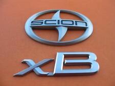 2004 2005 2006 SCION XB REAR LID EMBLEM LOGO BADGE SIGN OEM 04 05 06 SET #12
