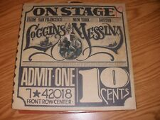 """LOGGINS AND MESSINA """"ON STAGE"""" 1974 COLUMBIA PG 32848"""
