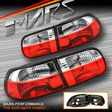JDM Clear Red Tail Lights for HONDA EG CIVIC 92-95 3 Doors Hatch GLi VTi Brezze