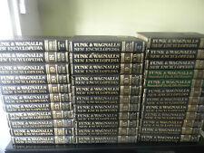 FUNK & WAGNALLS NEW ENCYCLOPEDIA YEARBOOKS 1976-1980, 34 VOLUMES