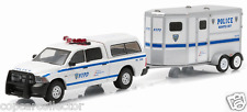 Greenlight 1/64 NYPD New York City Police Dodge Ram & Horse Trailer Set