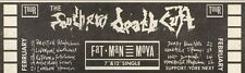 19/2/83PN26 ADVERT: THE SOUTHERN DEATH CULT FAT MAN MOYA 3X11
