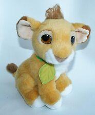 "LION KING Plush PURRING SIMBA stuffed doll 9"", Disney 1993 Mattel RARE Nice"