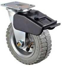 Zoro Select 1ulh2 Swivel Pneumatic Caster With Brak6 In200 Lb