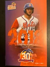 Tim Tebow 2018 New York St. Lucie Mets Florida Minor League Baseball Program New
