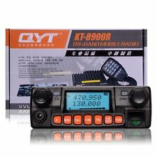 QYT KT-8900R Tri-Band VHF UHF 25W Car/Truck Two Way Radio Ham Mobile Transceiver
