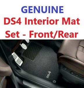 Citroen DS4 2011-2018 Floor Mats Carpet Black Set Branded Genuine RHD 1613954880