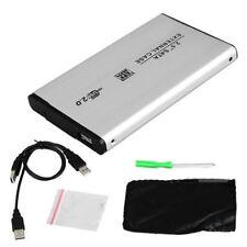 CASE PER ESTERNO BOX HARD SLIM DISK 2.5'' SATA S-ATA HDD USB  ADATTATORE ox