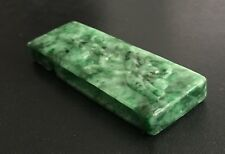 New listing Chinese Jadeite Carved Sword Guard