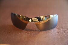 PolarLenz Polarized 24k Gold Replacement Lens for-Oakley Probation sunglasses