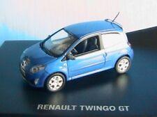 RENAULT TWINGO 2 GT 2007 BLEU EXTREME NOREV 7711421887 1/43 BLAU BLUE DIE CAST