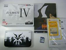 Nintendo 3DS Ll Shin Megami Tensei IV Blanco Limitado Modelo Videojuego Japón De