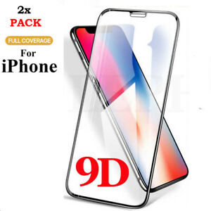 2x Screen Protector for iPhone XR,XS,11 Pro MAX,12 MINI PRO MAX TEMPERED GLASS
