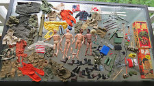 GI JOE - GROUP of 120 VINTAGE PIECES JOES & ACCESSORIES