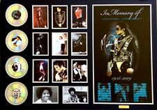 New Michael Jackson Signed Over Size Limited Edition Memorabilia Framed
